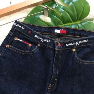 Vintage Tommy Hilfiger Spell Out Jeans Flare